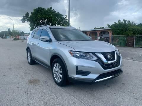 2017 Nissan Rogue for sale at MIAMI FINE CARS & TRUCKS in Hialeah FL