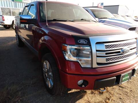 2013 Ford F-150 for sale at HALVORSON AUTO in Cooperstown ND