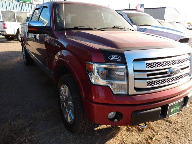 2013 Ford F-150 for sale at Halvorson Auto in New Rockford ND