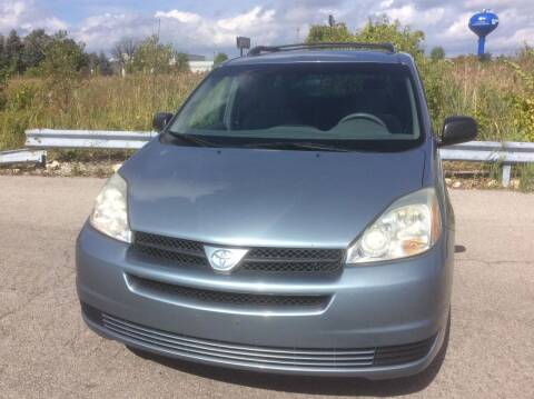 2004 Toyota Sienna for sale at Luxury Cars Xchange in Lockport IL
