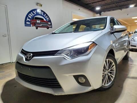 2014 Toyota Corolla for sale at Italy Blue Auto Sales llc in Miami FL