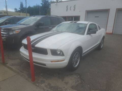 2005 Ford Mustang for sale at J & J Used Cars inc in Wayne MI