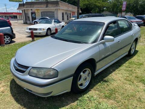 2002 Chevrolet Impala for sale at Cash Car Outlet in Mckinney TX