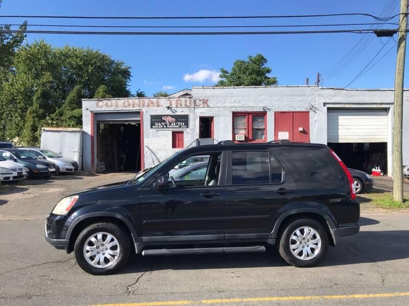 2005 Honda CR-V for sale at Dan's Auto Sales and Repair LLC in East Hartford CT