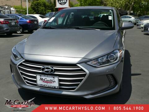 2018 Hyundai Elantra for sale at McCarthy Wholesale in San Luis Obispo CA