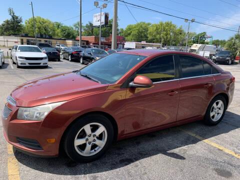 2013 Chevrolet Cruze for sale at Castle Used Cars in Jacksonville FL