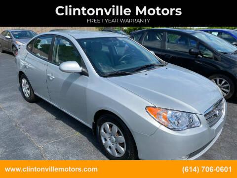 2009 Hyundai Elantra for sale at Clintonville Motors in Columbus OH