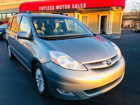 2010 Toyota Sienna for sale at Payless Motor Sales LLC in Burlington NC
