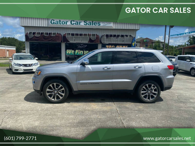 2018 Jeep Grand Cherokee for sale at Gator Car Sales in Picayune MS