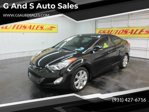 2012 Hyundai Elantra for sale at G and S Auto Sales in Ardmore TN