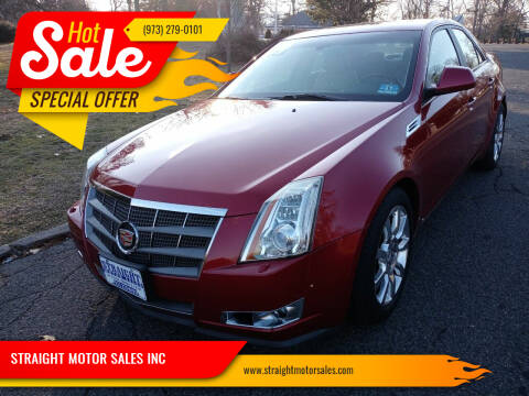 2009 Cadillac CTS for sale at STRAIGHT MOTOR SALES INC in Paterson NJ