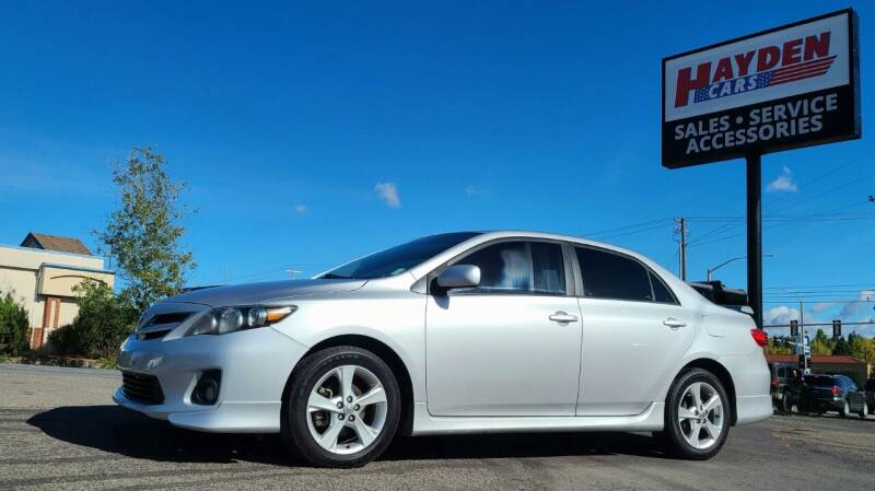 2012 Toyota Corolla for sale at Hayden Cars in Coeur D Alene ID