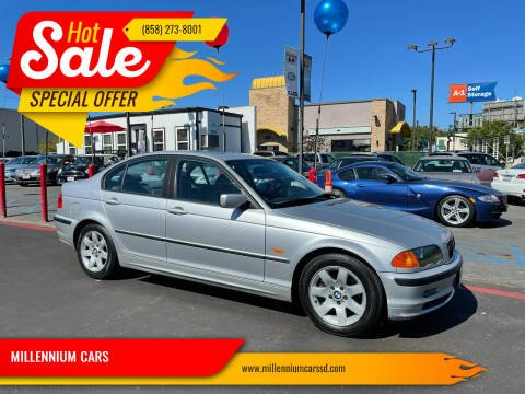 2001 BMW 3 Series for sale at MILLENNIUM CARS in San Diego CA