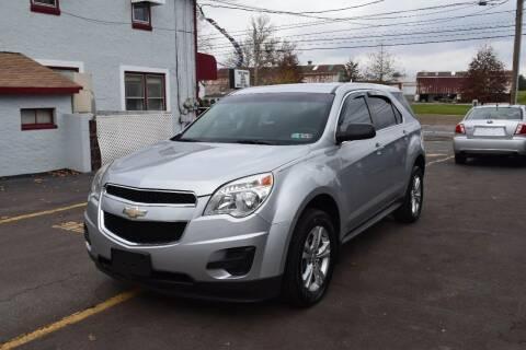 2011 Chevrolet Equinox for sale at L&J AUTO SALES in Birdsboro PA