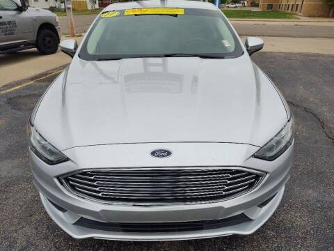 2017 Ford Fusion for sale at Lewis Chevrolet Buick of Liberal in Liberal KS