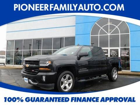 2018 Chevrolet Silverado 1500 for sale at Pioneer Family auto in Marietta OH