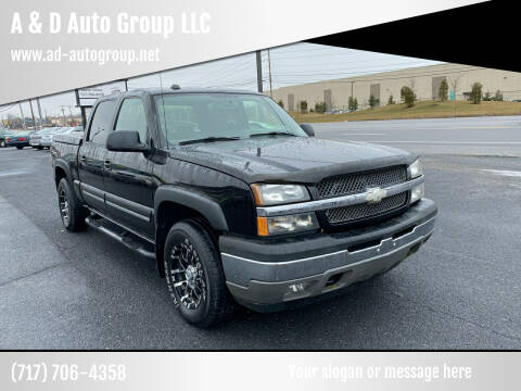 2005 Chevrolet Silverado 1500 for sale at A & D Auto Group LLC in Carlisle PA