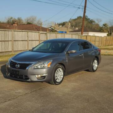 2015 Nissan Altima for sale at MOTORSPORTS IMPORTS in Houston TX