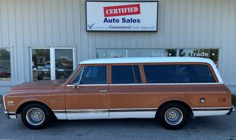 1971 Chevrolet Suburban for sale at Certified Auto Sales in Des Moines IA