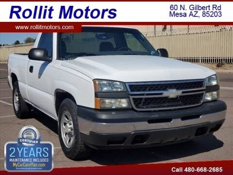 2006 Chevrolet Silverado 1500 for sale at Rollit Motors in Mesa AZ