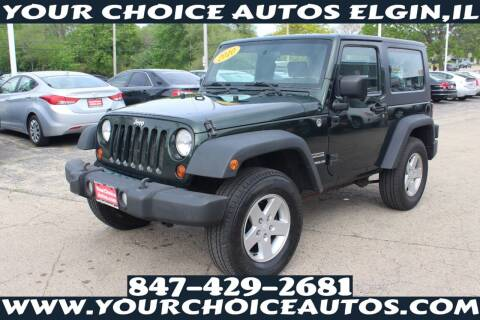 2010 Jeep Wrangler for sale at Your Choice Autos - Elgin in Elgin IL