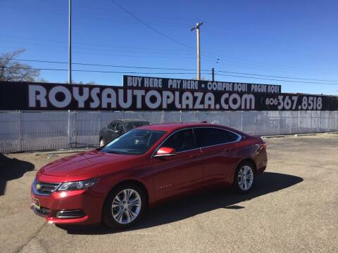 2015 Chevrolet Impala for sale at Roy's Auto Plaza 2 in Amarillo TX