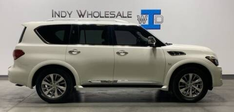 2016 Infiniti QX80 for sale at Indy Wholesale Direct in Carmel IN
