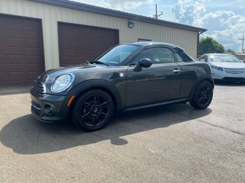 2012 MINI Cooper Coupe for sale at Ryans Auto Sales in Muncie IN