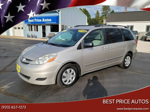 2008 Toyota Sienna for sale at Best Price Autos in Two Rivers WI