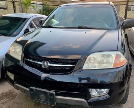 2001 Acura MDX for sale at Naber Auto Trading in Hollywood FL