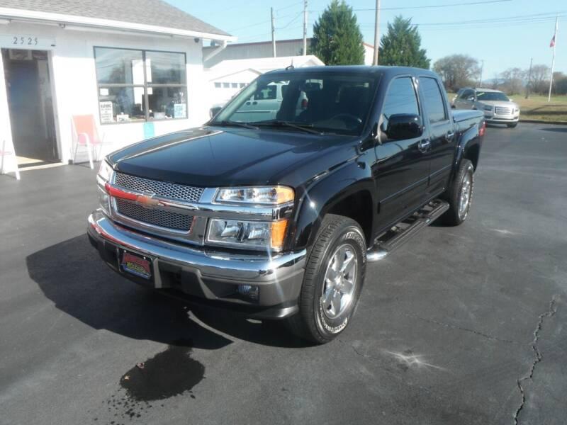 2010 Chevrolet Colorado for sale at Morelock Motors INC in Maryville TN