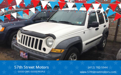 2007 Jeep Liberty for sale at 57th Street Motors in Pittsburgh PA