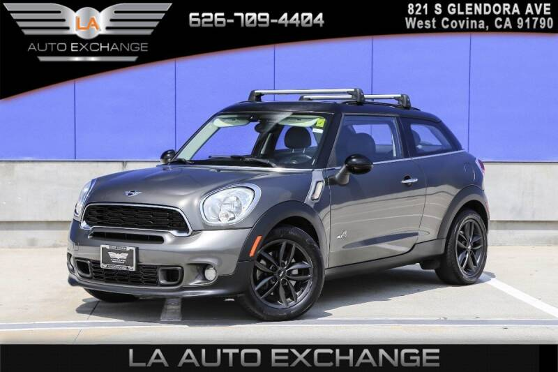 2013 MINI Paceman for sale in West Covina, CA
