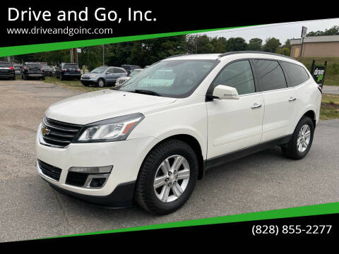 2014 Chevrolet Traverse for sale at Drive and Go, Inc. in Hickory NC