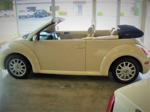 2004 Volkswagen New Beetle Convertible for sale at PERL AUTO CENTER in Coffeyville KS