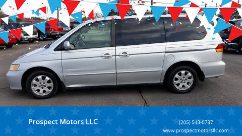 2002 Honda Odyssey for sale at Prospect Motors LLC in Adamsville AL