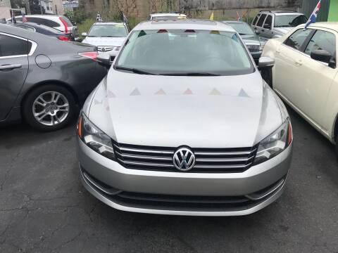 2013 Volkswagen Passat for sale at Best Cars R Us LLC in Irvington NJ