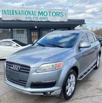 2008 Audi Q7 for sale at International Motors Inc. in Nashville TN