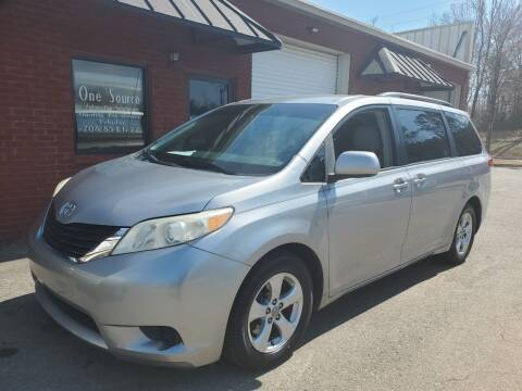2011 Toyota Sienna for sale at One Source Automotive Solutions in Braselton GA