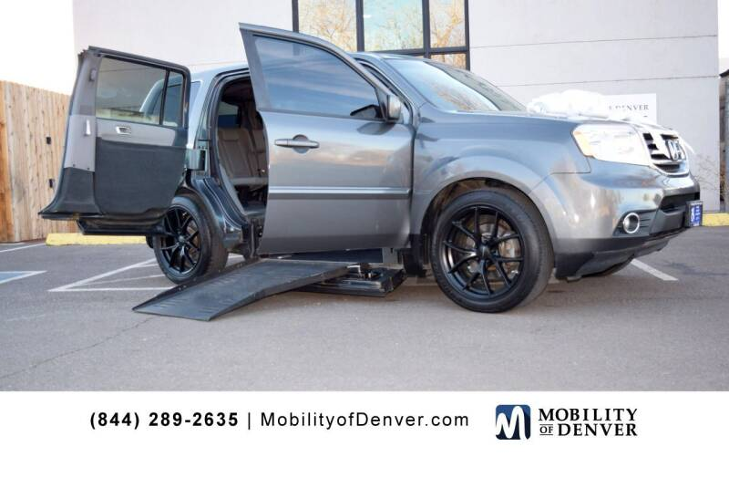 2013 Honda Pilot for sale at CO Fleet & Mobility in Denver CO