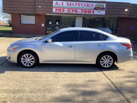 2014 Nissan Altima for sale at A-1 Motors in Virginia Beach VA