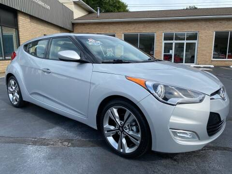 2016 Hyundai Veloster for sale at C Pizzano Auto Sales in Wyoming PA