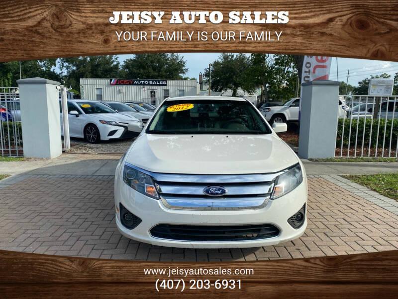 2012 Ford Fusion for sale at JEISY AUTO SALES in Orlando FL