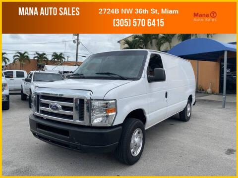 2013 Ford E-Series Cargo for sale at MANA AUTO SALES in Miami FL