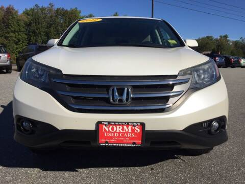 2012 Honda CR-V for sale at NORM'S USED CARS INC - Trucks By Norm's in Wiscasset ME