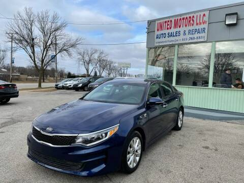 2017 Kia Optima for sale at United Motors LLC in Saint Francis WI