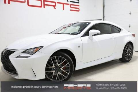 2015 Lexus RC 350 for sale at Fishers Imports in Fishers IN