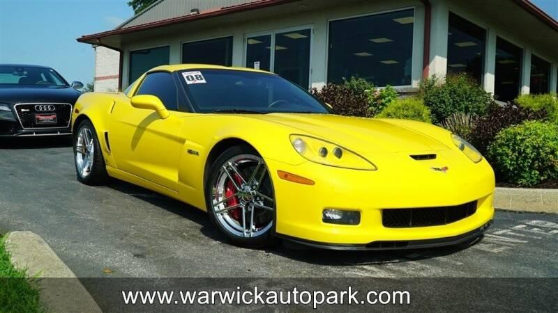 2008 Chevrolet Corvette for sale at WARWICK AUTOPARK LLC in Lititz PA