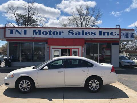 2008 Chevrolet Impala for sale at TNT Motor Sales in Oregon IL