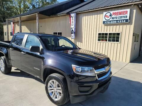 2016 Chevrolet Colorado for sale at Premier Auto Center in Cartersville GA